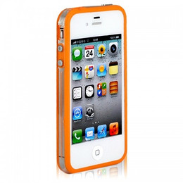 iPhone 4S Bumper Orange