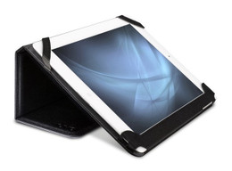 IUVO iPad 4+3+2 Leather Book Smart Case Black