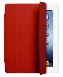iPad 4+3+2 Smart Cover Red
