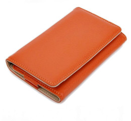 Orange iPhone Wallet
