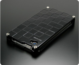 Gild Design iPhone 4S 4 Luxury Metal Case Full Black