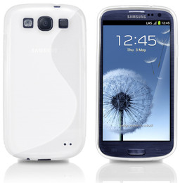 Samsung S3 White Cover
