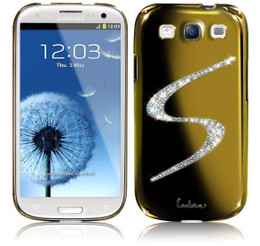 Samsung Galaxy S3 Luxury Bling Case Gold