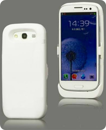 Samsung Galaxy S3 Battery Case White 3500mAh