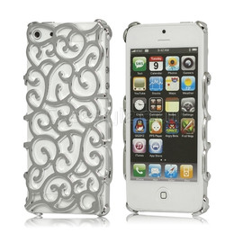 iphone 5 designer case silver