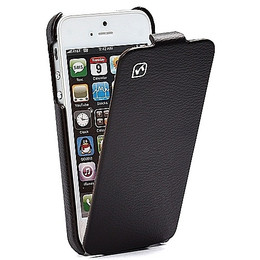 Hoco iPhone 5 Flip Case Black