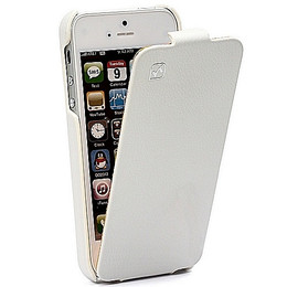 Hoco Duke iPhone 5 White Leather