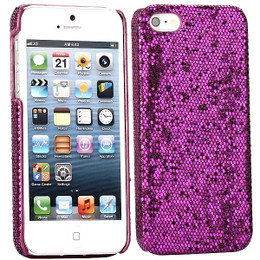 iPhone 5 Bling Night Purple Case