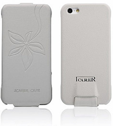 iPhone 5 Vogue Flower Case White
