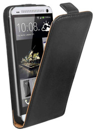 HTC One M7 Flip Case Black