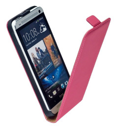 HTC One Pink Leather