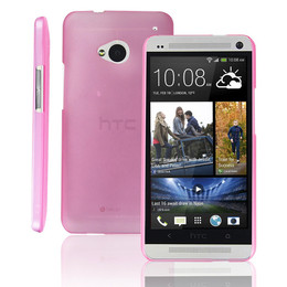 HTC One M7 Ultra Thin Case Pink