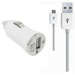 HTC One In Car Charger White with USB Cable