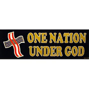 Bumper Sticker One Nation Under God