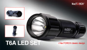 Nextorch T6A LED Flashlight Kit