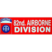Bumper Sticker 82nd Airborne Division