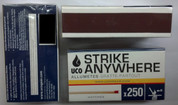 Strike Anywhere Matches 250 CT