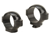 "Burris 1"" Standard Steel Rings Low Black Gloss"
