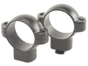 "Burris Standard Steel High Rings 1"" Matte Black"