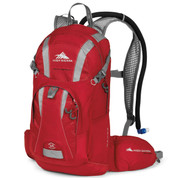 High Siera Wahoo Backpack Red