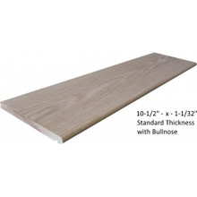 "10-1/2"" stair tread from Lighted Landings. 133 Chesterfield Industrial Blvd, Chesterfield, MO 63005"