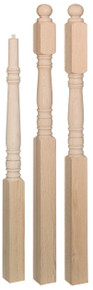 "Hampton Style 3-1/2"" newel posts, 3.5"" newel"