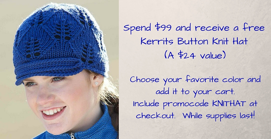 Free Kerrits Button Knit Hat
