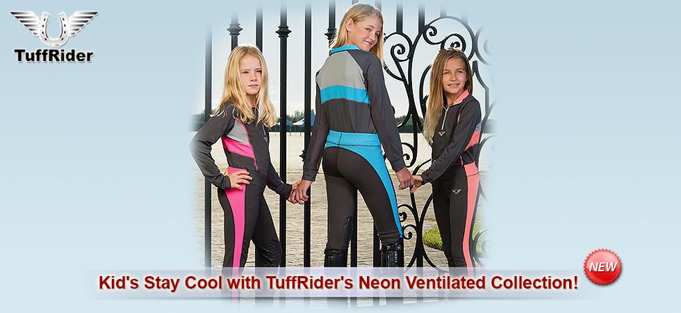 TuffRider Kids Neon Collection