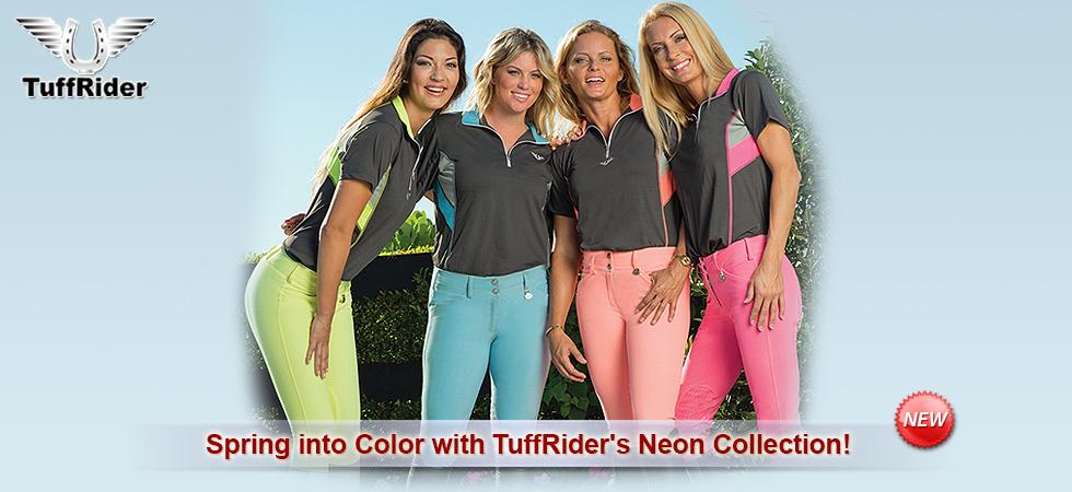 TuffRider Neon Collection