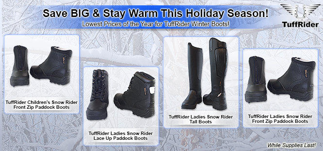 TuffRider Snow Rider Winter Boot Sale