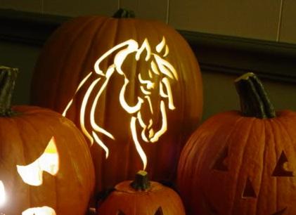 Horse Jack O' Lantern