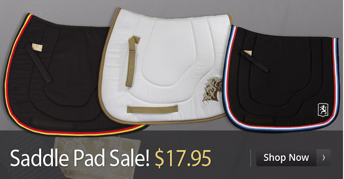 Saddle Pad Sale