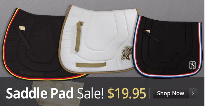 Saddle pad sale - $19.95