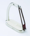 Centaur Stainless Steel Peacock Stirrups