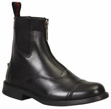 Children's TuffRider Baroque Front Zip Paddock Boots - black