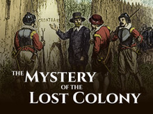 The Mystery of the Lost Colony  (Audio CD)