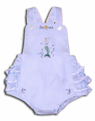 Melody's Sunsuit Sewing for Baby Pattern by Kari Mecca