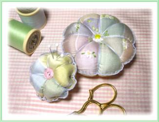 Pincushion Pattern, Scissor Fob & Strawberry Pincushion Pattern