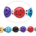 Opaque Ladybug Beads