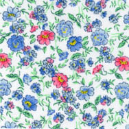 Bright floral cotton fabric from Fabric Finders