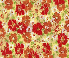 Lightweight cotton lawn print fabric