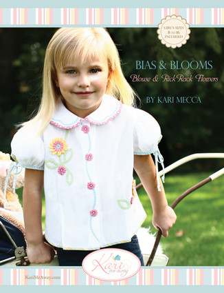 Bias and Blooms Blouse Pattern