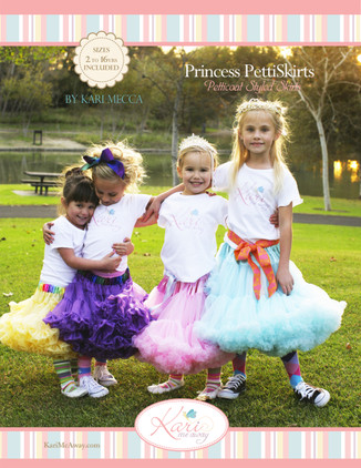 Princess pettiskirt pattern Cover