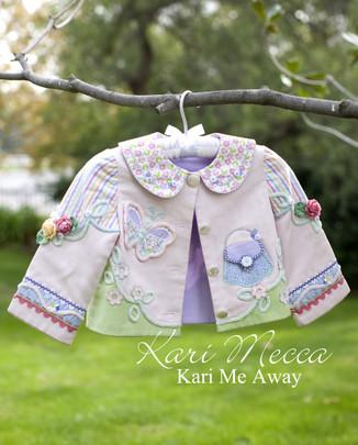 Topsey Turvey Coat Pattern by Kari Mecca