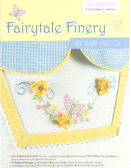 Fairytale Finery Machine Embroidery Disc