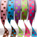 "1"" Dotted Reversible Ribbon Pkg."