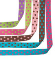 "1-1/2"" Dotted Reversible Ribbon Pkg."