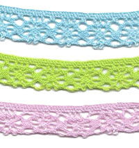 Bright Cotton Cluny Lace Trim