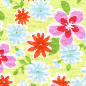 Sunshine Floral Lawn Fabric