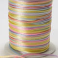 Rainbow Rattail Cord